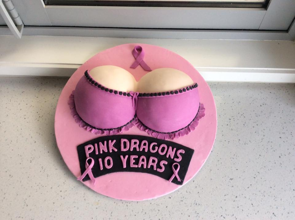 10 Year Anniversary Cake